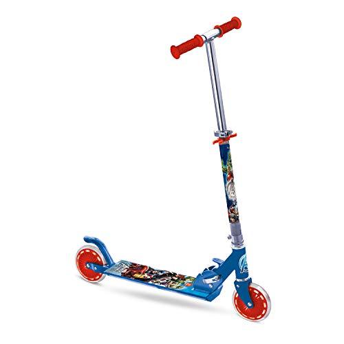 Mondo Toys - Monopattino in alluminio per bambino bambina AVENGERS - manubrio regolabile - 2 ruote - 18009