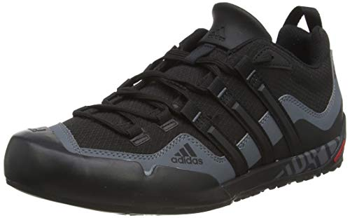 adidasTerrex Swift Solo - Scarpe fitness da esterni uomo, Nero (Black (Black1/Black)), 42 2/3 (8.5 uk)