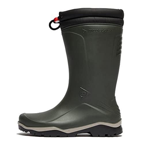 DUNLOP BLIZZARD Calzature protettive Stivali da pioggia misti Adulto, Verde, 43 EU