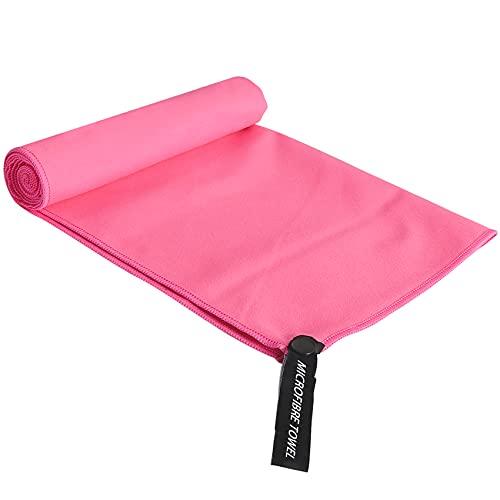 Rpanle Asciugamano in Microfibra, Asciugamano Microfibra Piccolo, Asciugatura Rapida, Assorbente, Adatto per Campeggio,Yoga, Fitness, Spiaggia, Palestra ect (Rossa)