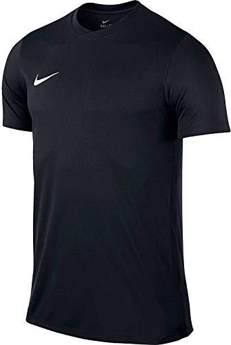 Nike Park VI, Maglietta Uomo, Nero (Black/White), S
