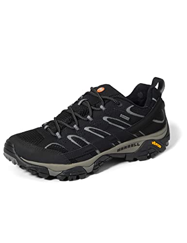 Merrell Moab 2 Gtx, Stivali da Escursionismo Uomo, Nero (Black), 44 EU