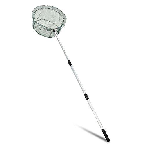 DIGIFLEX Retino da pesca pieghevole con asta telescopica