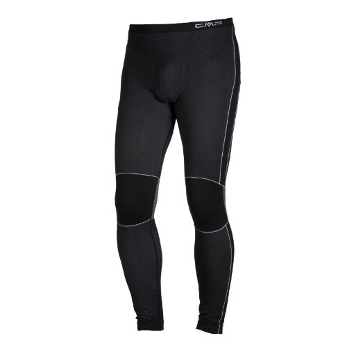 CMP 3Y97802, Pantaloni Intimi Tecnici Uomo, Nero, M/L