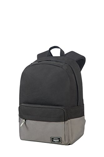 American Tourister Urban Grove Lifestyle Zaino Casual, 40 cm, 23 L, Nero (Black/Grey)