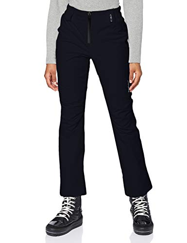 CMP Pfc Free 20000 - Pantaloni da sci da donna, imbottiti, Donna, 3W05376, schwarz, 36