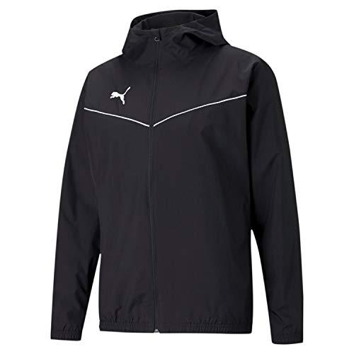 PUMHB|#Puma Teamrise all Weather Jacket, Giacca Tuta Uomo, Puma Black-Puma White, XXL