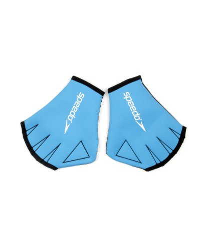 Speedo Aqua Glove Au, Guanti Unisex Adulto, Blu, S