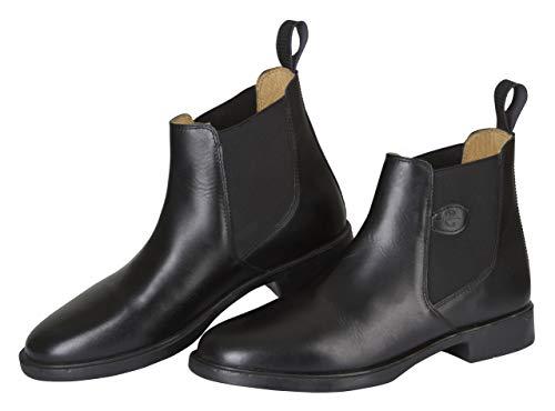 Kerbl, Reitstiefelette Leder Classic, Stivali da equitazione, Unisex adulto, Nero, 43 EU
