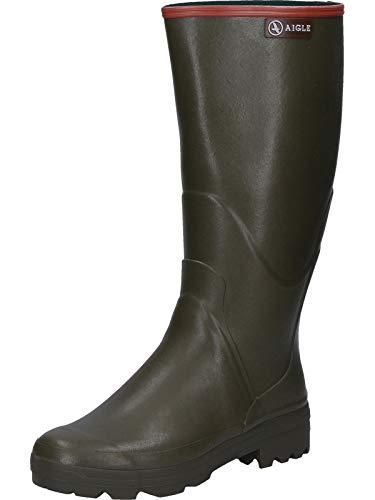 Aigle Chambord PRO 2, Stivali di Gomma da Lavoro Uomo, Verde (Kaki 001), 42 EU