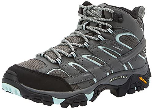 Merrell Moab 2 Mid GTX, Stivali da Escursionismo Alti Donna, Sedona Sage, 41 EU