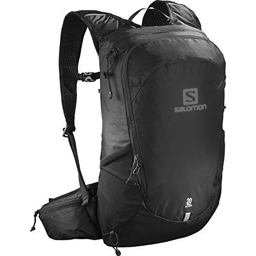 Salomon Trailblazer 20, Zaino Unisex Trail Running Escursionismo Sci Snowboard, Nero (Black), Taglia Unica
