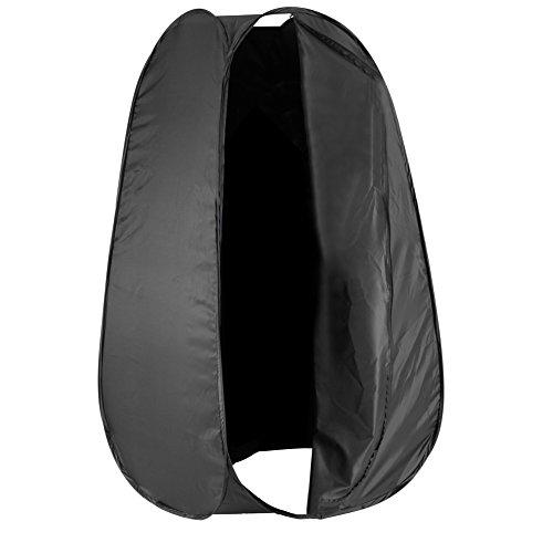 Neewer 10080167, Tenda istantanee per cambiare i vestiti, Per studio fotografico, Borsetta incluso, Nero, 183 cm