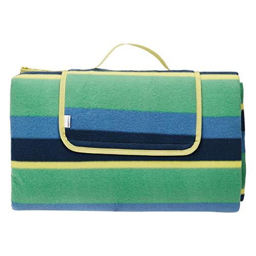 Amazon Basics - Coperta da picnic con retro impermeabile, 200 x 200 cm