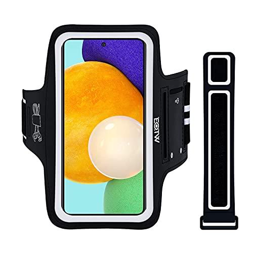 Fascia da Braccio Portacellulare per Correre, EOTW Porta Cellulare Braccio per iPhone 12/12 Pro/11/11 Pro Max/XR, Huawei P40/30, Samsung S20/S10 Porta Smartphone Fascia Running (Per 5''-6.7'')
