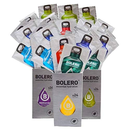 Bolero Drinks - Bevanda idratante senza zucchero, con aromi assortiti 58 Sabores Variados