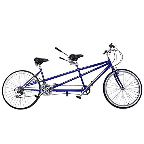 26 pollici Genitore europeo e americano-figlio Auto per il tempo libero Multi-Persone Bicicletta Bicicletta con coppia variabile Bicicletta da viaggio in tandem