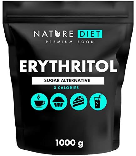 Nature Diet - Eritritolo 2 x 1000 g   Dolcificante Naturale   Zero calorie   Sostituzione dello zucchero   sostituto dello zucchero