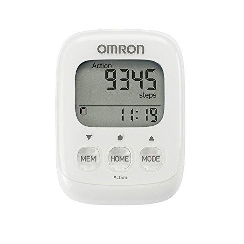 OMRON Walking Style IV Pedometro, Bianco