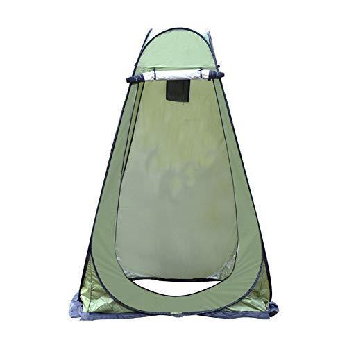 BaBa Tenda per Spogliatoio Portatile All'aperto, Tenda ad Apertura Istantanea Pop-Up Campeggio Bagno, Tenda Fasciatoio da Campeggio con Pavimento, Tenda Mobile per Toilette (Army Green)