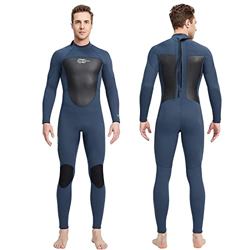 Mute Donna Uomo Neoprene 3mm Allungare Wetsuit AONYIYI Caldo Mute da sub a Maniche Lunghe per Snorkeling Immersioni Nuoto Surf