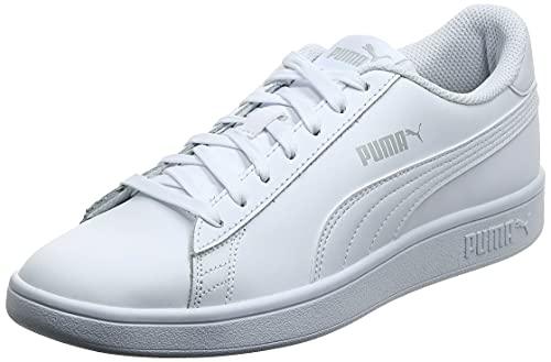 PUMA Smash v2 L, Scarpe da Ginnastica Unisex-Adulto, Bianco White White, 44 EU