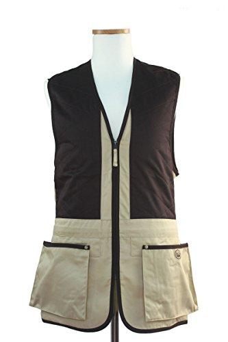 Beretta Universale Trap Cotton - Gilet Uomo, Multicolore (beige/Braun), 5XL