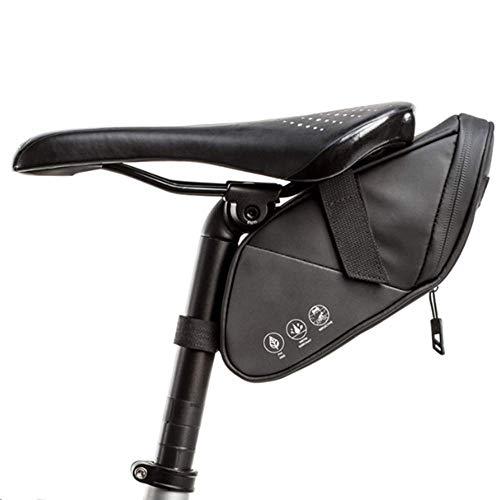 Borsa della Sella per Bicicletta 1,5L Borsa per Sellino Impermeabile Borsa sottosella con Tasca Borsa da Sella per Ciclismo/MTB/Bici