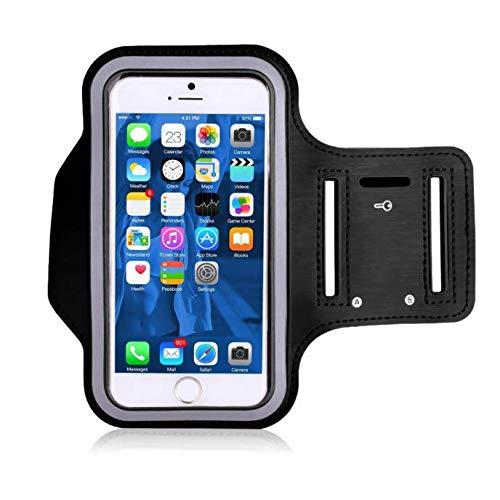 Porta cellulare da corsa, Porta Cellulare braccio Sweatproof Fascia Sportiva running Universale 6,5 pollici adatto per Xiaomi, Samsung, Huawei, Iphone con Tasca per Chiave