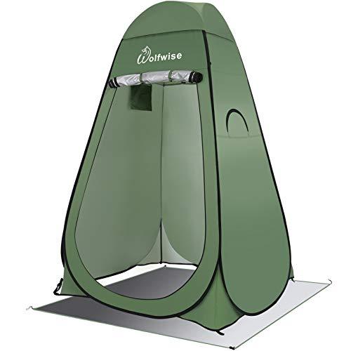 WolfWise Tenda Istantanea Pop-Up Privato Portabile per Campeggio Spiaggia Bagno Spogliatoio Doccia Riparo
