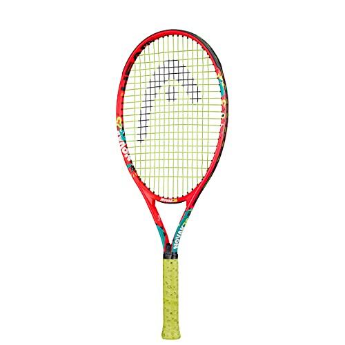 HEAD Novak 25 Racchette da Tennis, Unisex Bambino, Multicolore, 8-10 Anni