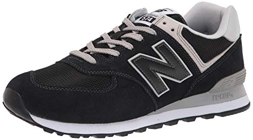 New Balance 573 Core, Scarpe da Ginnastica Uomo, Black, 43 EU