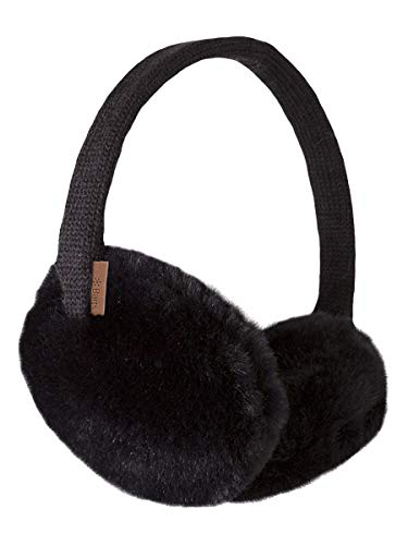 Barts - Plush Earmuffs, Paraorecchie Donna, Nero (Schwarz), Taglia unica (Taglia Produttore: One Size)