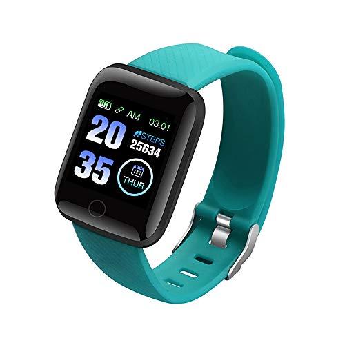 116Plus Braccialetto sportivo Sports Fitness Polsino Frequenza cardiaca Pressione sanguigna Pedometro monitor del sonno