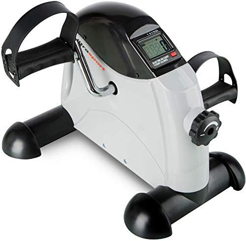 Ultrasport Mini Bike MB 100 per l'Allenamento di Gambe e Braccia con Maniglia per il Trasporto, Diversi Livelli di Resistenza, Display LCD, Attrezzo per l'Allenamento in Casa o in Ufficio