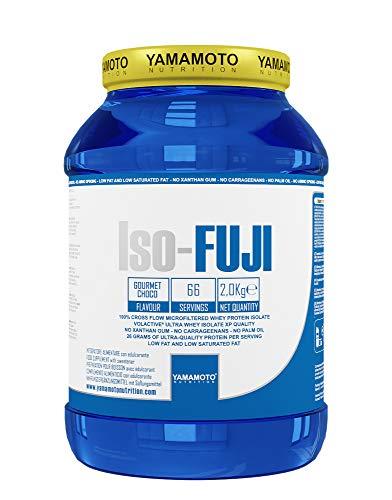 Yamamoto Nutrition Iso-FUJI® proteine del siero di latte isolate ultrafiltrate - 2 kg gusto Cioccolato