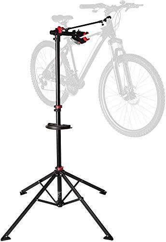 Ultrasport Expert Supporto per Biciclette, Supporto Stabile per Biciclette, Supporto per Riparazioni per Tutti i Tipi di Biciclette Fino a 30 Kg, Funzioni Utili per le Riparazioni delle Biciclette
