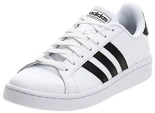 adidas Grand Court, Scarpe Sportive Mens, Bianco (Cloud White/Core Black/Cloud White), 42 2/3 EU