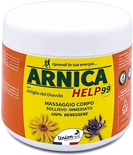 Arnica Per Cavalli Uso Umano   ARNICA HELP99 500ML   Made In Italy, Gel Arnica Montana Naturale, Arnica Gel FORTE Con Artiglio Del Diavolo, Dermatologicamente Testata   Naturale al 100%