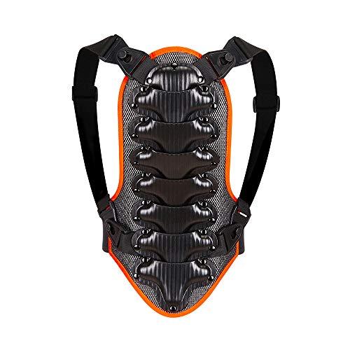 WOSAWE Bambini Paraschiena, Traspirante Regolabile Abbigliamento Protettivo per Moto, BMX, Sci e Snowboard RPK S