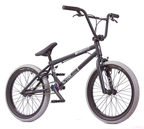 KHE - Bicicletta BMX COPE AM, 20 pollici, brevettata Affix a 360°, solo 10,9 kg, colore: Nero