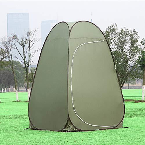 HWLY Tenda da doccia pop-up per Halloween, da campeggio, per spogliatoio, portatile, altezza 1,9 m