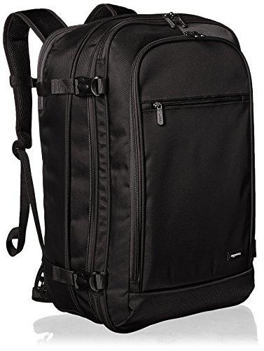 Amazon Basics - Zaino da viaggio/bagaglio a mano, Nero - 50L