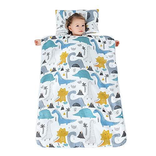 Belupai Sacco a pelo per riposino dei bambini, con cuscino e coperta rimovibili, adatto per casa, scuola materna, A2., 120x90CM