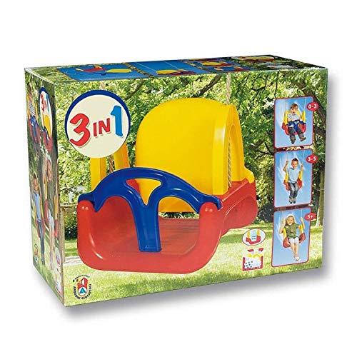 Green Garden 8306-0000, Altalena 3-in-1 Per Bambini Più Piccoli, Modelli/Colori Assortiti, 1 Pezzo