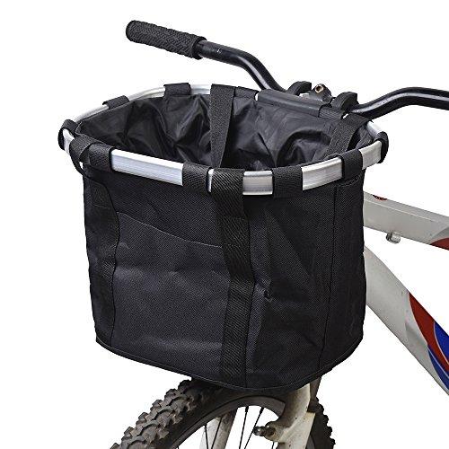 Docooler Cestino Anteriore Bici Staccabile Animale Domestico Vettore Lega di Alluminio