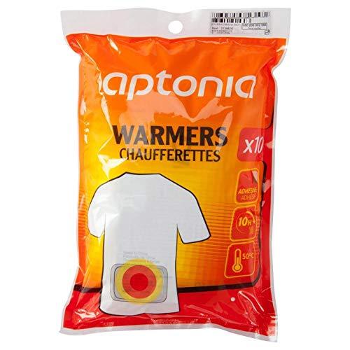 Aptonia - Scaldamani grandi per il corpo, 50ºC, confezione da 10