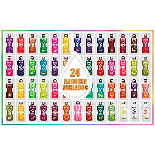 Bolero Drink 24 Bustine Gusti Diversi Assortimento alla Frutta Preparato Polvere Solubile Per Bevanda Fresca in Acqua Prodotto, 216 grammi