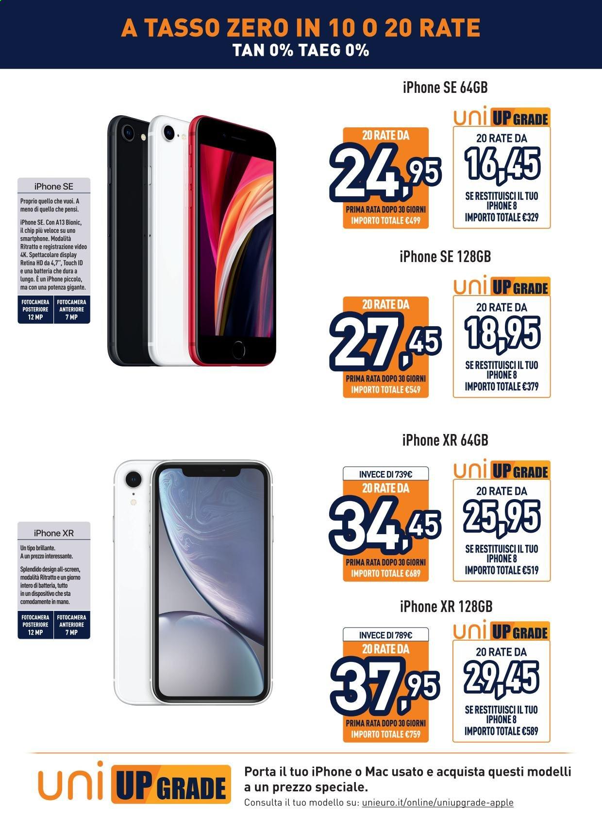 Offerte Iphone Unieuro